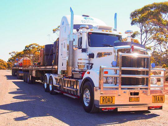 Mining Equipment Transport - Banister's Transport